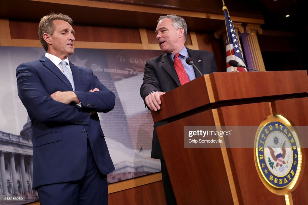Senators Flake And Kaine Promote Use Of Military Force Against Terror Groups
