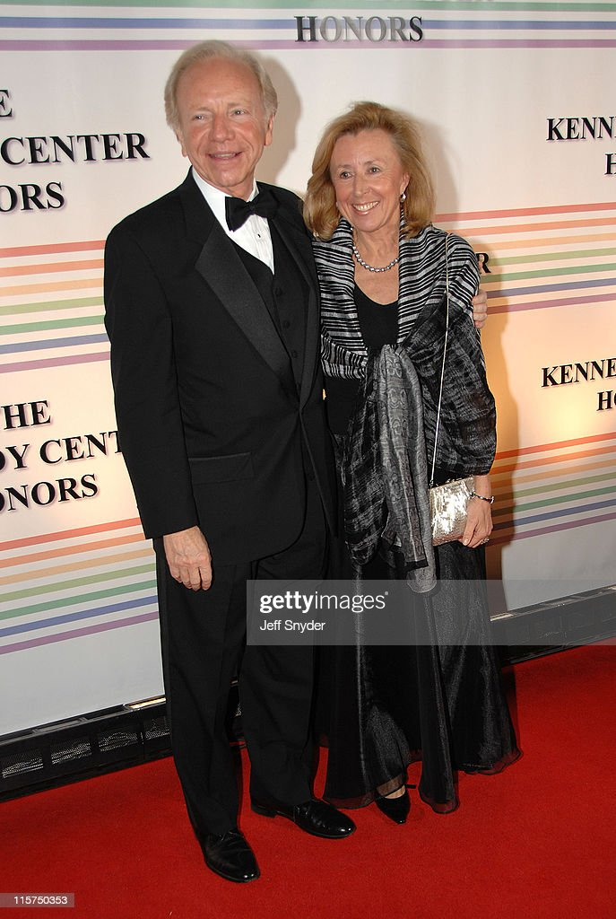 Sen Joe Lieberman and wife Hadassah during 29th Annual Kennedy Center Honors at John F Kennedy Center for the Performing Arts in Washington DC United...