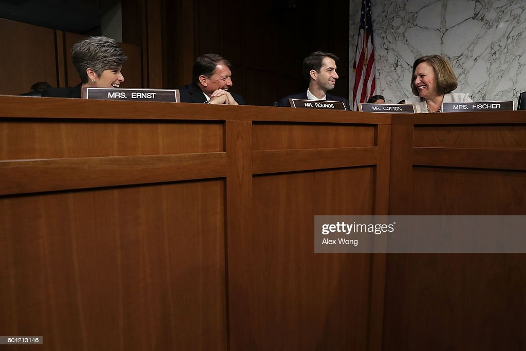 Senate Armed Services Committee Holds Hearing On Cyber Security
