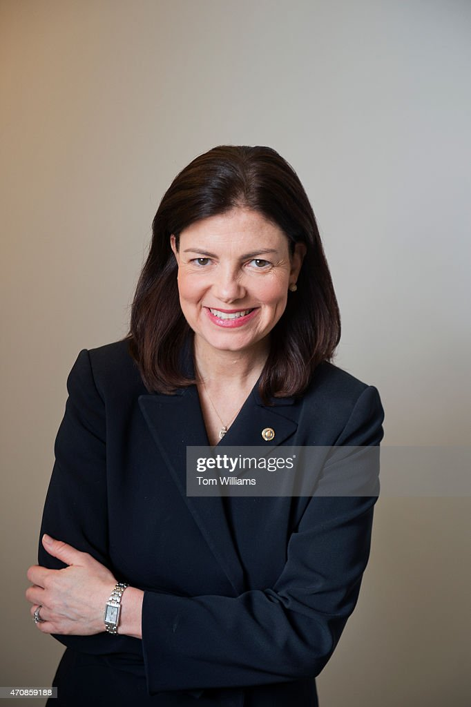 Sen. Kelly Ayotte, R-N.H., is photographed in Russell Building, April 22, 2015.