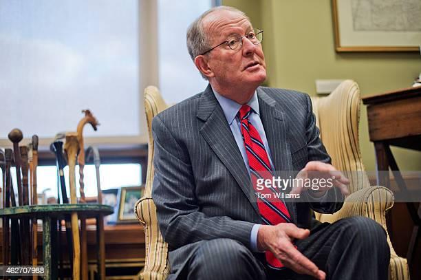 Sen Lamar Alexander RTenn is interviewed by CQ Roll Call in his Dirksen Building office February 2 2015
