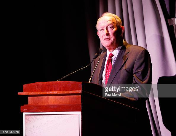 Sen Lamar Alexander speaks at the 7th Annual 'We Write The Songs' Concert at The Library of Congress on May 12 2015 in Washington DC