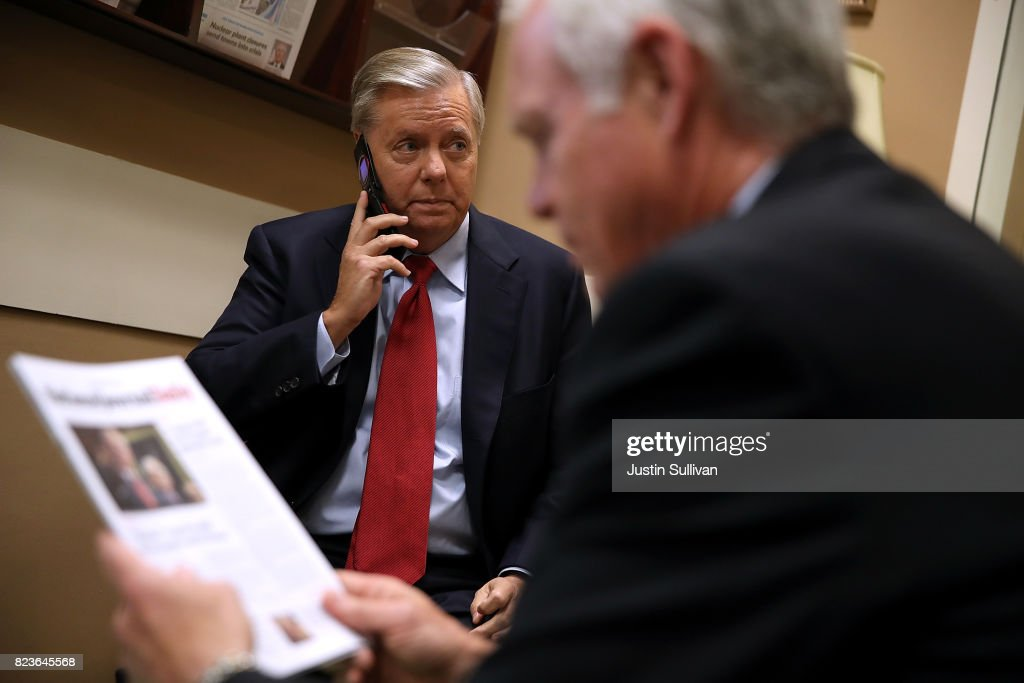 Senators McCain, Graham, Purdue, Johnson And Lee Discuss Health Care Reform
