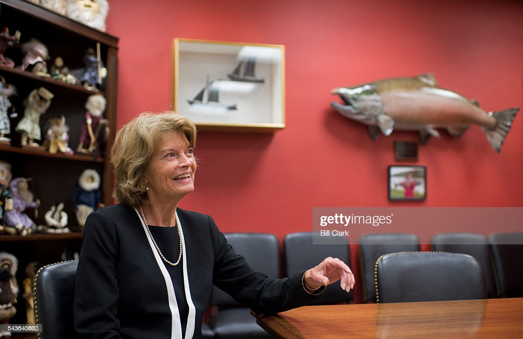 Sen. Lisa Murkowski, R-Alaska, speaks with Roll Call in a meeting room in her office in the Hart Senate Office Building on Wednesday, June 29, 2016.