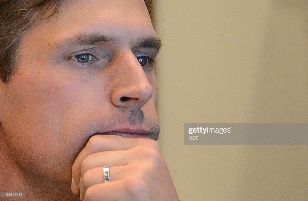 Sen. Martin Heinrich (D-N.M.), the newest member of the U.S. Senate Select Committee on Intelligence, looks at his computer screen inside his office on Capitol Hill in Washington, D.C., Dec. 18, 2013.