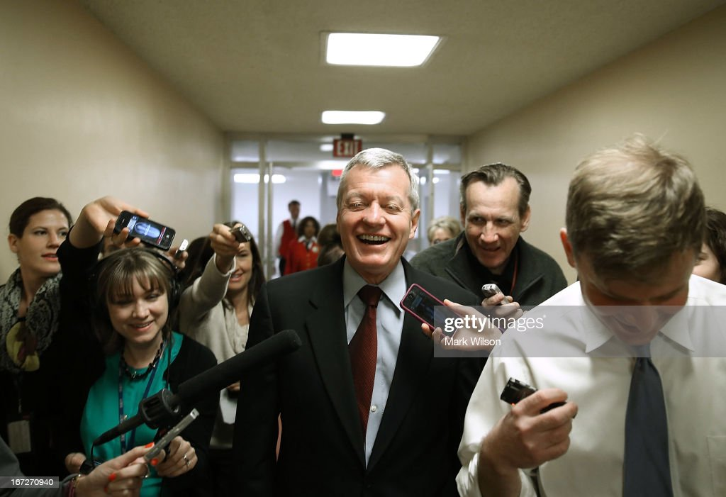 Senator Max Baucus  Announces Plans To Retire