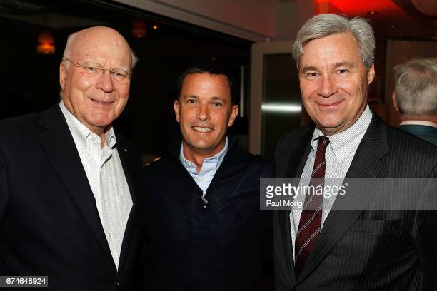 Sen Patrick Leahy Jay Sures Managing Director United Talent Agency and Sen Sheldon Whitehouse attend the 'United Talent Agency Honors White House...