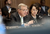 Sen Richard Durbin DIl speaks at a Senate Appropriations committee markup of the FY2013 Agriculture Rural Development Food and Drug Administration...