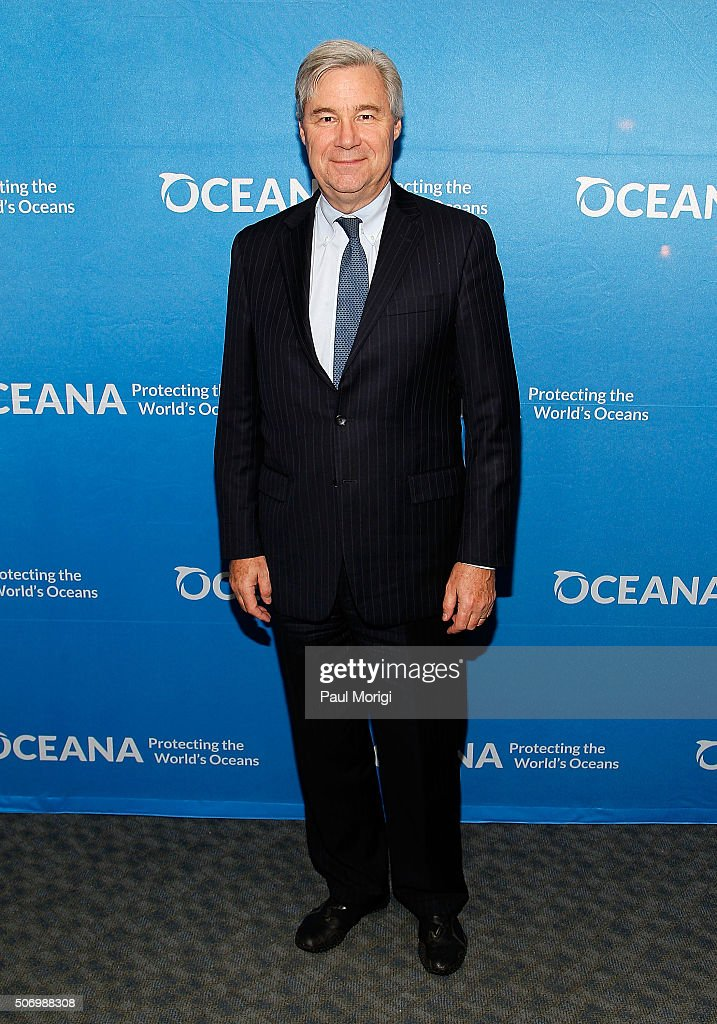 Sen. <a gi-track='captionPersonalityLinkClicked' href=/galleries/search?phrase=Sheldon+Whitehouse&family=editorial&specificpeople=599442 ng-click='$event.stopPropagation()'>Sheldon Whitehouse</a> (D-RI) attends Oceana's Coastal Voices Summit at George Washington University on January 26, 2016 in Washington, DC.