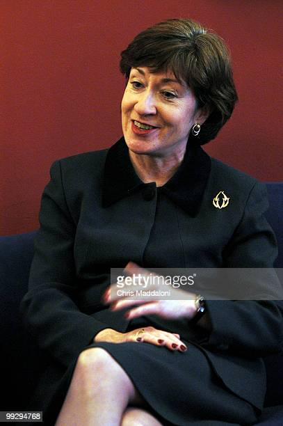 Sen Susan Collins RMe at an interview