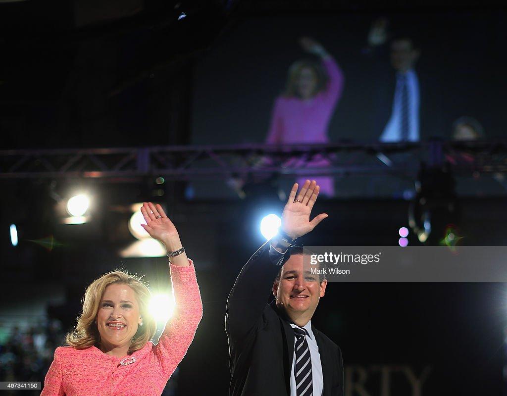 Sen. Ted Cruz  Announces His Run For President At Liberty University