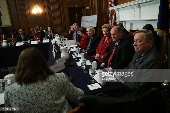 US Sen Tim Kaine Sen Sheldon Whitehouse Sen Amy Klobuchar Senate Minority Leader Sen Harry Reid Sen Debbie Stabenow Sen Chris Coons and Senate...