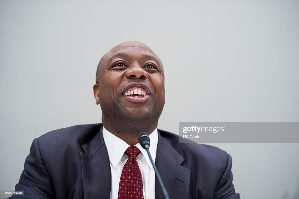 Sen. <a gi-track='captionPersonalityLinkClicked' href=/galleries/search?phrase=Tim+Scott+-+Pol%C3%ADtico&family=editorial&specificpeople=12898323 ng-click='$event.stopPropagation()'>Tim Scott</a>, R-S.C., holds his National School Choice Forum on 'Choosing Excellence: A Forum on the Freedom to Choose Academic Excellence for Every Child' in the Hart Senate Office BUilding on Monday, Feb. 9, 2015
