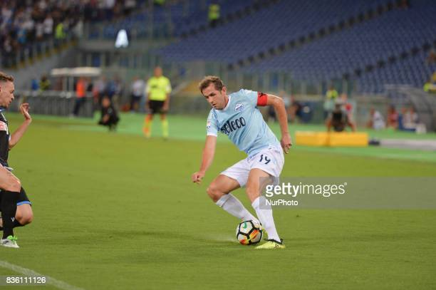 Senad Lulic during the Italian Serie A football match SS Lazio vs Spal at the Olympic Stadium in Rome august on 20 2017