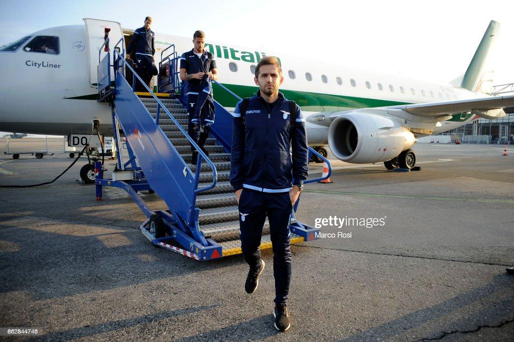 SS Lazio Walk Around And Press Conference