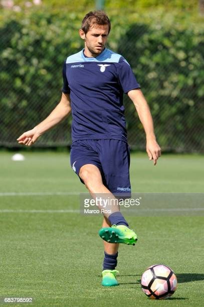 Senad Lulic of SS Lazio during the SS Lazio Training Session And Press Conference on May 15 2017 in Rome Italy