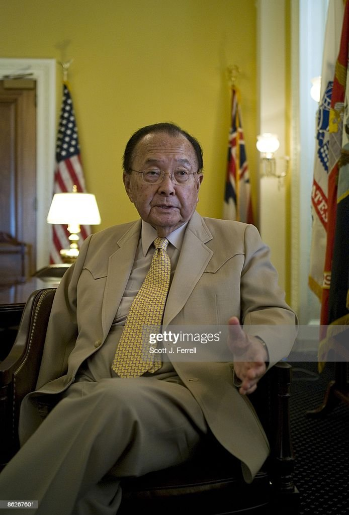 Senate Appropriations Chairman <a gi-track='captionPersonalityLinkClicked' href=/galleries/search?phrase=Daniel+K.+Inouye&family=editorial&specificpeople=206767 ng-click='$event.stopPropagation()'>Daniel K. Inouye</a>, D-Hawaii, during an interview in his office.
