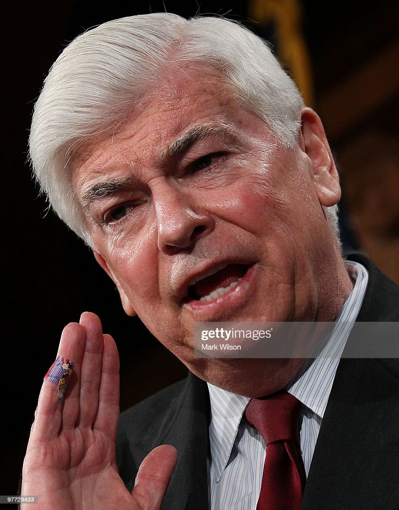 Sen. Chris Dodd Unveils Plan For New Regulations Of Financial Institutions