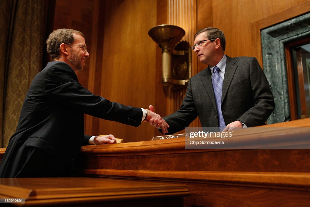 CBO Director Doug Elmendorf Testifies At Senate Hearing On Fiscal Policy