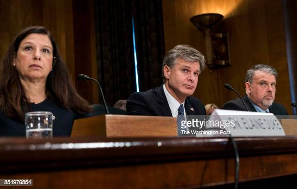 WASHINGTON DC US Senate Committee on Homeland Security Government Affairs hold a hearing concerning domestic security and preparedness by questioning...