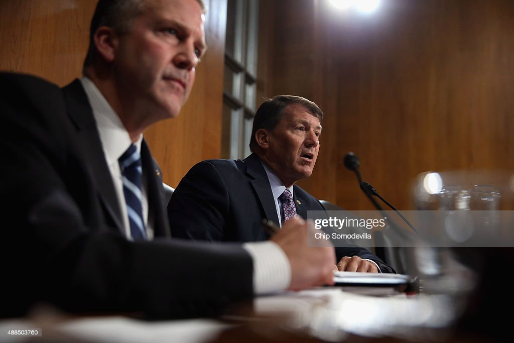 EPA Admin Gina McCarthy Testifies To Senate Hearing On The Dept's Gold King Mine Disaster