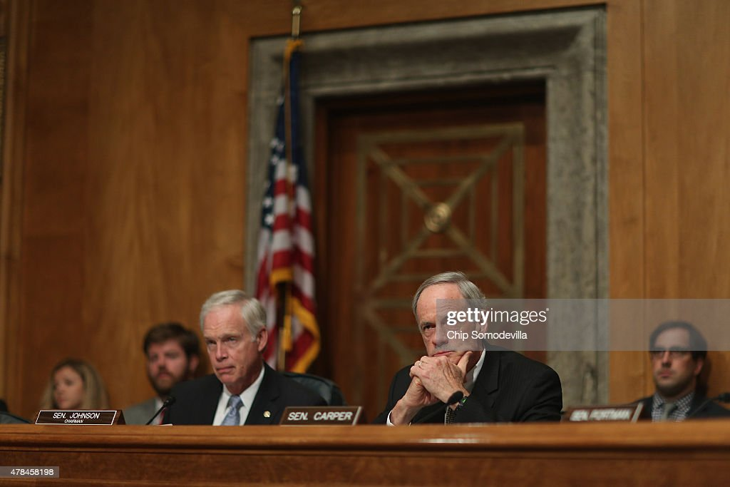 Hackers testifying at the united states senate - may 19, 1998
