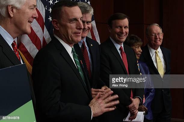 US Senate Majority Whip Sen John Cornyn Rep Tim Murphy Sen Bill Cassidy Sen Chris Murphy Rep Eddie Bernice Johnson and Sen Lamar Alexander...