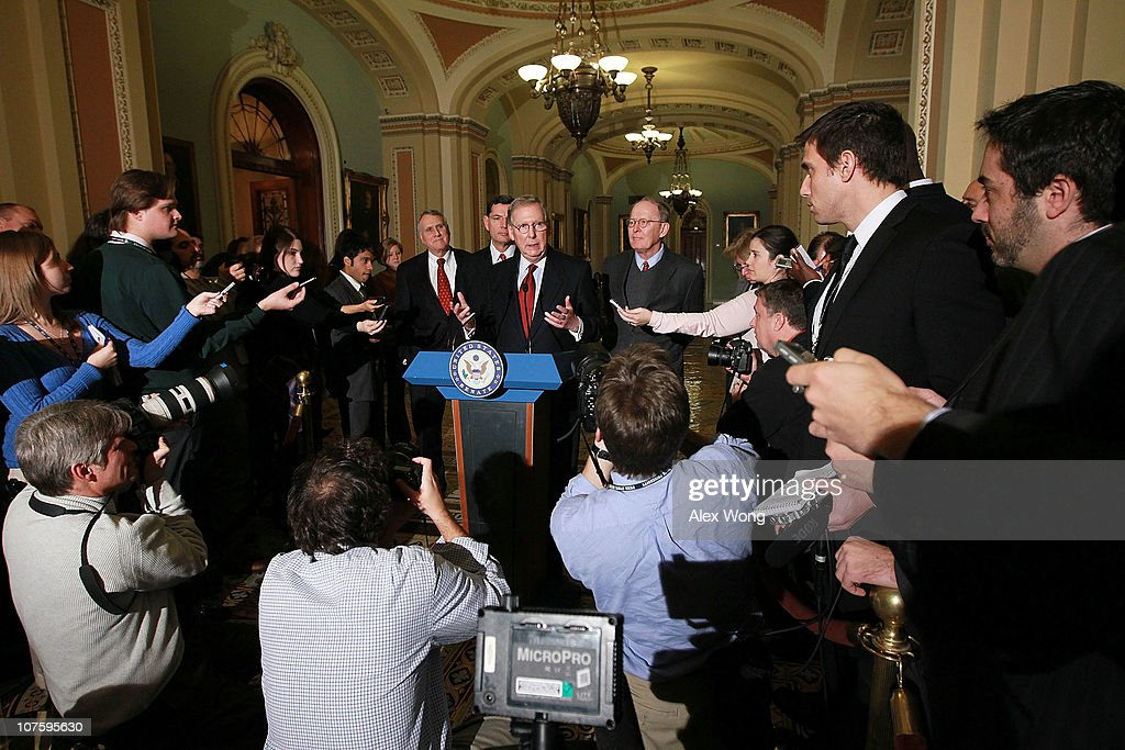 The Senate Republican Policy Committee Holds Weekly Meeting