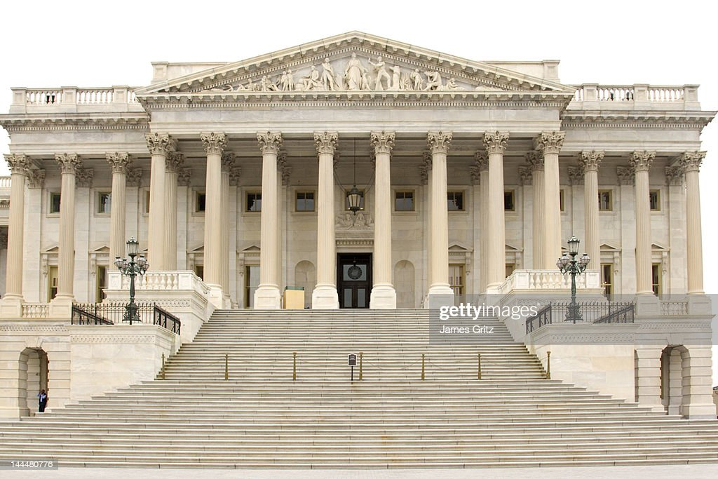 US Senate, Washington DC : Stock Photo