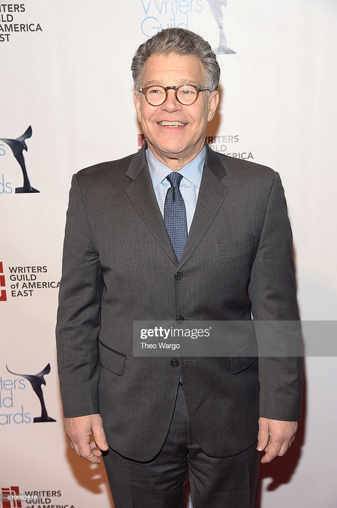 Senator Al Franken attends the 68th Annual Writers Guild Awards at Edison Ballroom on February 13, 2016 in New York City.