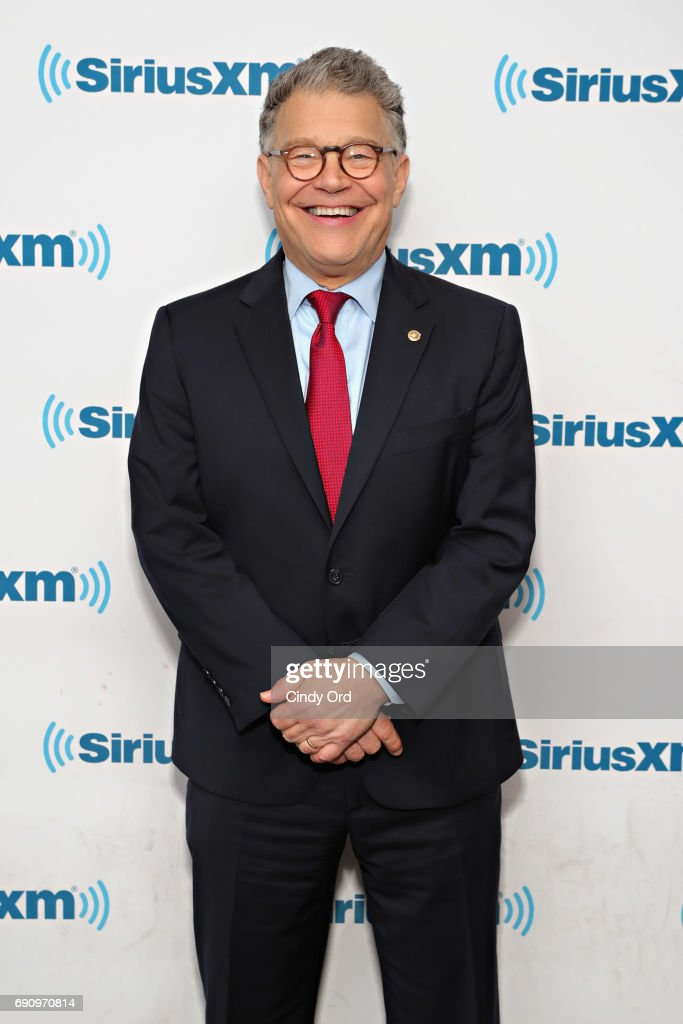 Senator Al Franken Discusses Politics At A SiriusXM Town Hall With Host Julie Mason And The Hill's Bob Cusack