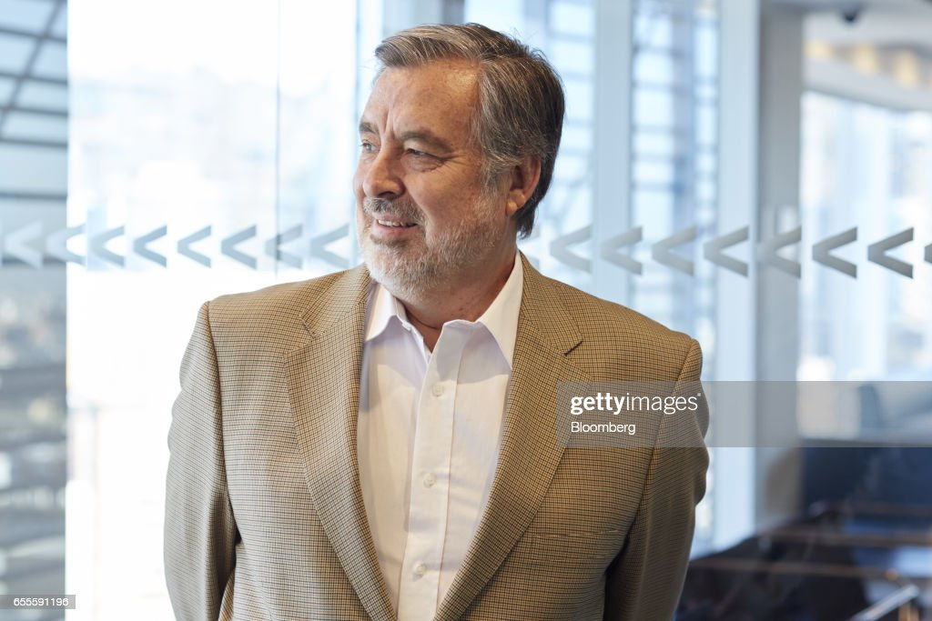Senator Alejandro Guillier, presidential candidate for Chile, stands for a photograph following an interview in Santiago, Chile, on Thursday, March 16, 2017. Two months after JPMorgan said investors were shunning Chile because of Guillier's populist stance and his rise in the opinion polls, the candidate says the business community would have nothing to fear from his administration. Photographer: Cristobal Palma/Bloomberg via Getty Images