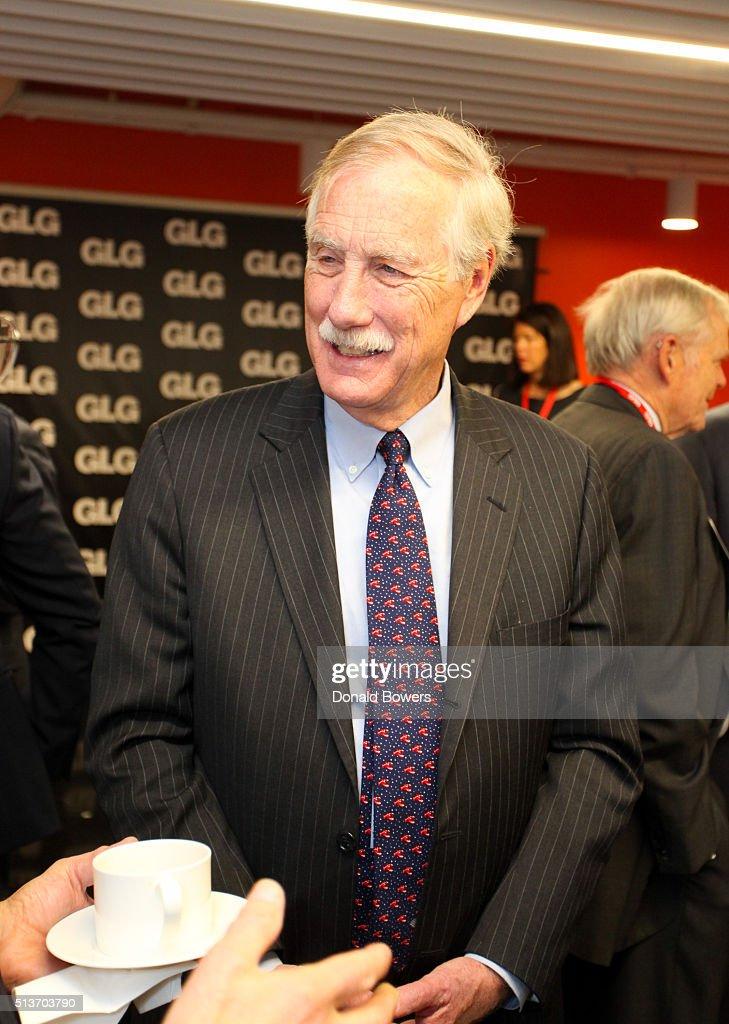 Senator Angus King  Visits GLG
