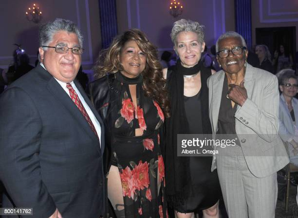 Senator Anthony Portantino singer Thea Austin and Jewel ThaisWilliams attend the Entertainment AIDS Alliance's Annual EAA Wine Wisdom Vision Event...
