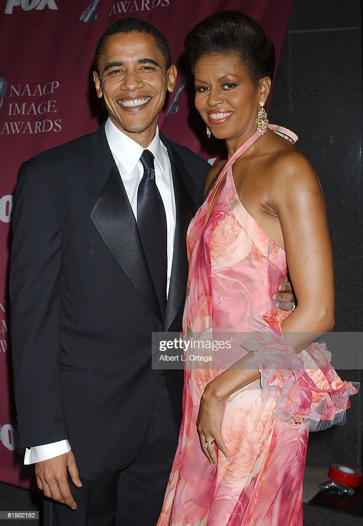 Senator Barack Obama and Michelle Robinson