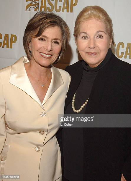 Senator Barbara Boxer and Marilyn Bergman during 21st Annual ASCAP Film and Television Music Awards at Beverly Hilton Hotel in Beverly Hills...