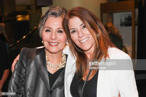 Senator Barbara Boxer and Nicole Boxer attend a reception following a screening of 'How I Got Over' during the AFI DOCS Documentary Film Festival at...
