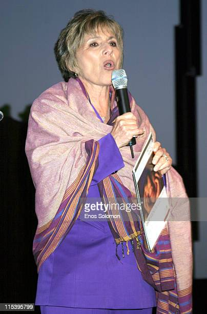 Senator Barbara Boxer during First Star's Annual 'Celebration For Children's Rights' Honoring Sir Ben Kingsley at Private Residence in Beverly Hills...