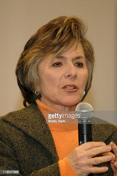 US Senator Barbara Boxer during Senator Barbara Boxer Signs Her Book 'A Time to Run' at Barnes Noble in New York City December 9 2005 at Barnes Noble...
