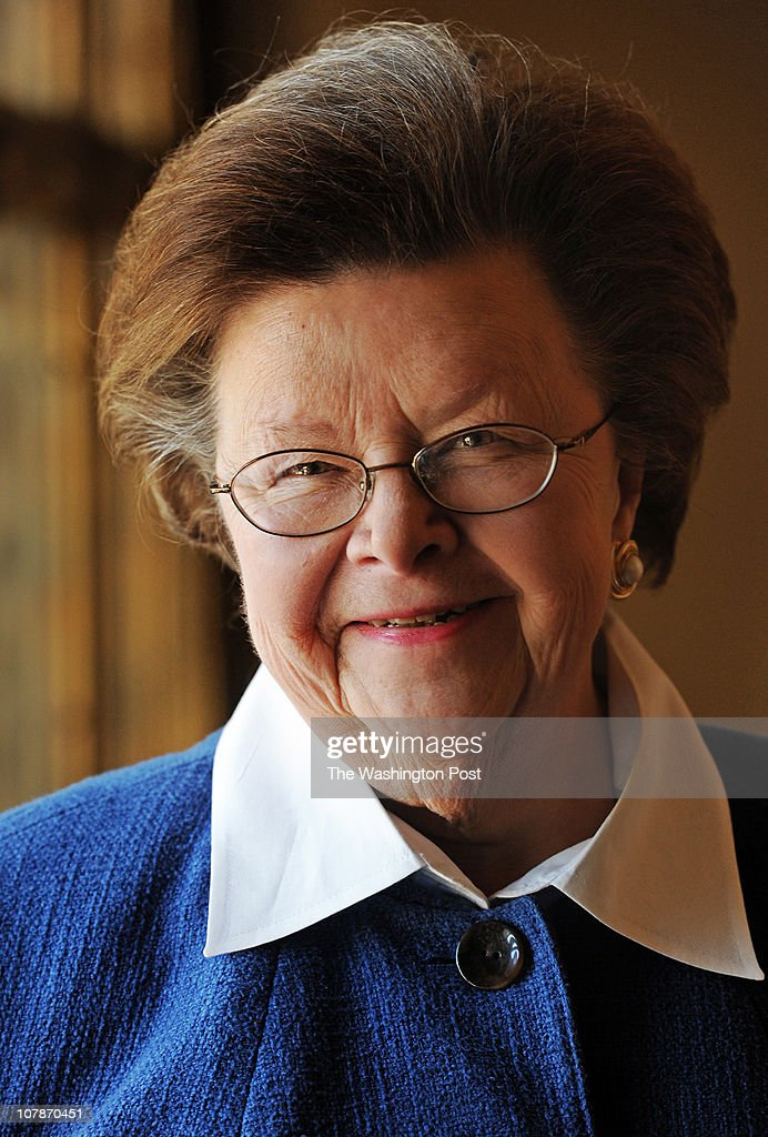 Senator <a gi-track='captionPersonalityLinkClicked' href=/galleries/search?phrase=Barbara+Mikulski&family=editorial&specificpeople=226768 ng-click='$event.stopPropagation()'>Barbara Mikulski</a>, in the Pratt Library January, 04, 2011 in Baltimore, MD.