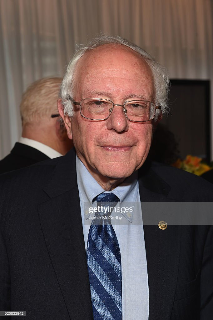 Senator <a gi-track='captionPersonalityLinkClicked' href=/galleries/search?phrase=Bernie+Sanders&family=editorial&specificpeople=2908340 ng-click='$event.stopPropagation()'>Bernie Sanders</a> attends the tlantic Media's 2016 White House Correspondents' Association Pre-Dinner Reception at Washington Hilton on April 30, 2016 in Washington, DC.
