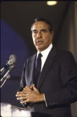 Senator Bob Dole speaking at CPAC conference