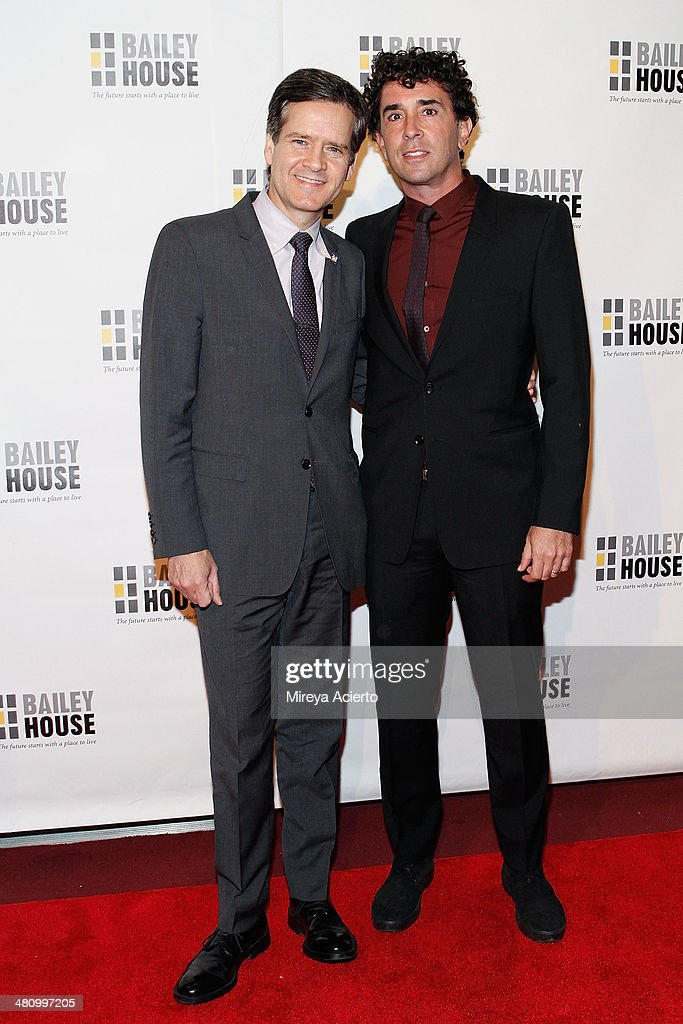 Senator Brad Hoylman and David Sigal attend Bailey House's 2014 Gala & Auction at Pier 60 on March 27, 2014 in New York City.