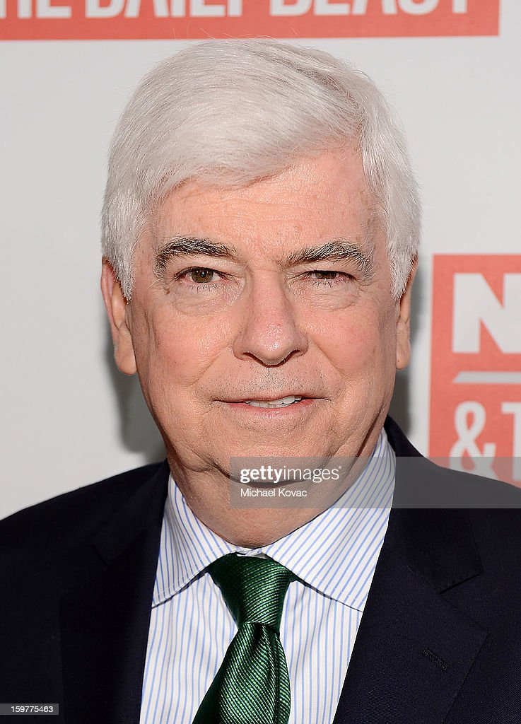 U.S. Senator Christopher Dodd (D-CT) attends The Daily Beast Bi-Partisan Inauguration Brunch at Cafe Milano on January 20, 2013 in Washington, DC.