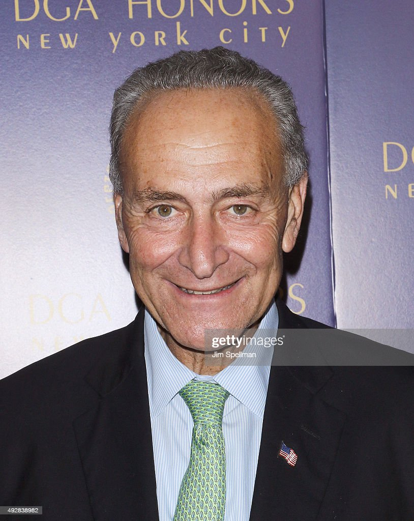Senator Chuck Schumer attends the DGA Honors Gala 2015 at the DGA Theater on October 15, 2015 in New York City.