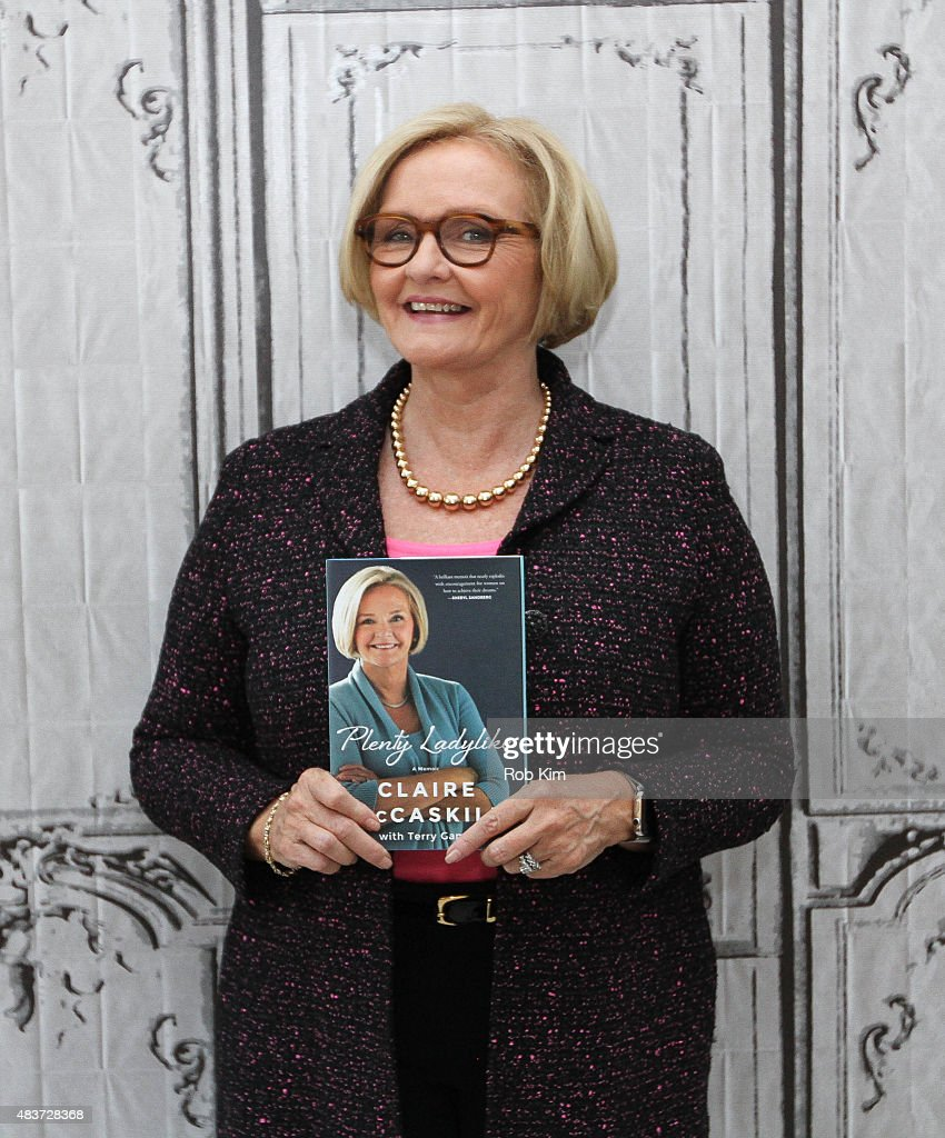 U.S. Senator <a gi-track='captionPersonalityLinkClicked' href=/galleries/search?phrase=Claire+McCaskill&family=editorial&specificpeople=3951404 ng-click='$event.stopPropagation()'>Claire McCaskill</a> attends AOL Build Presents: 'Plenty Ladylike' at AOL Studios In New York on August 12, 2015 in New York City.