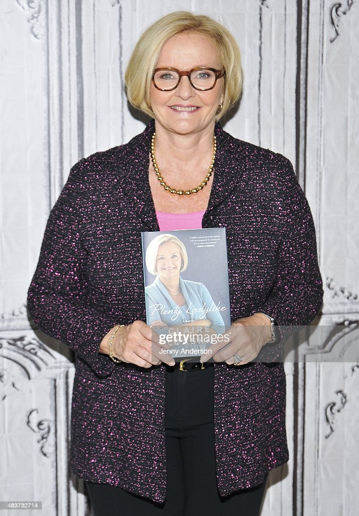 U.S. Senator Claire McCaskill attends AOL Build Presents 'Plenty Ladylike' at AOL Studios in New York on August 12, 2015 in New York City.