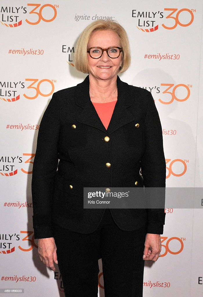 Senator Claire McCaskill attends EMILY's List 30th Anniversary Gala at Washington Hilton on March 3, 2015 in Washington, DC.