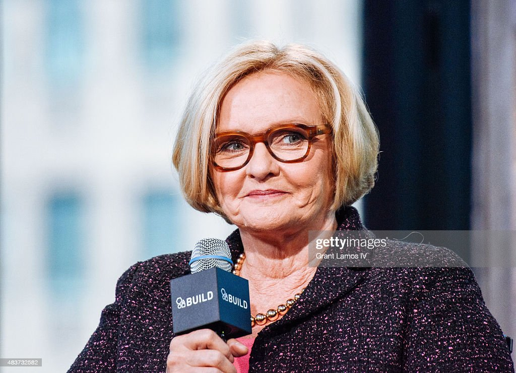 U.S. Senator <a gi-track='captionPersonalityLinkClicked' href=/galleries/search?phrase=Claire+McCaskill&family=editorial&specificpeople=3951404 ng-click='$event.stopPropagation()'>Claire McCaskill</a> attends the AOL Build Presents: 'Plenty Ladylike' at AOL Studios in New York on August 12, 2015 in New York City.