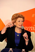 Senator Debbie Stabenow speaks at a panel at EMILY's List 30th Anniversary Gala at Washington Hilton on March 3 2015 in Washington DC